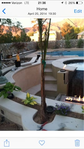 Oasis in the desert - El Paso - Haus