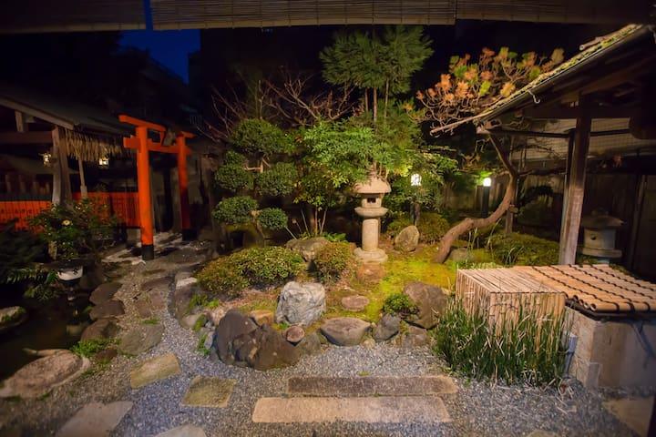 "100y Kyoto Pure Japanese garden---""Suikawa"" - Kamigyo Ward, Kyoto"