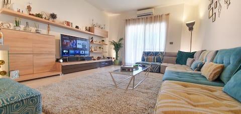 세련되고 현대적인 1베드룸 아파트