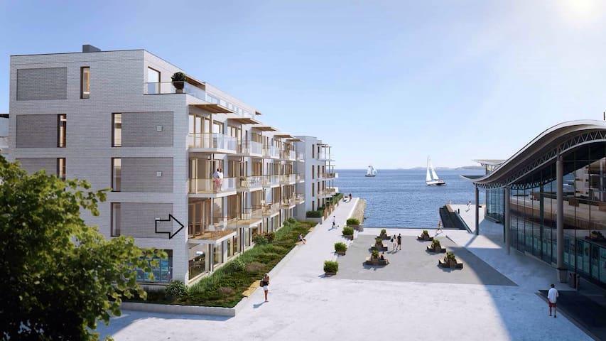 10 meter fra sjøen! - Larvik - Appartamento