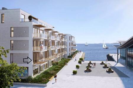 10 meter fra sjøen! - Larvik - Wohnung