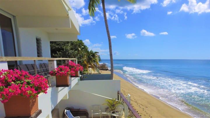 ★Beachfront★ Beaches are open! Walk to Food/Bars.