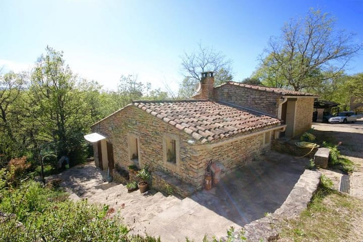 Maison au cœur du Luberon avec piscine privée