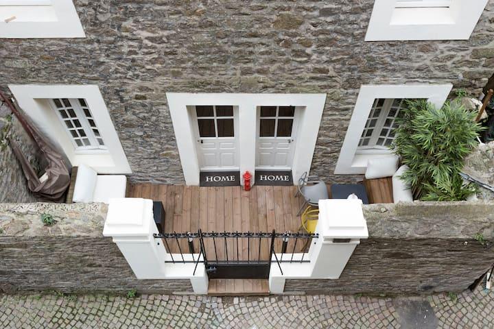 La petite Terrasse Malouine Intra Muros historique