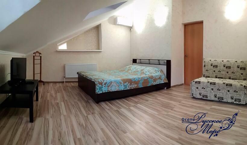 Комфортабельный номер в доме у моря - Кучугуры