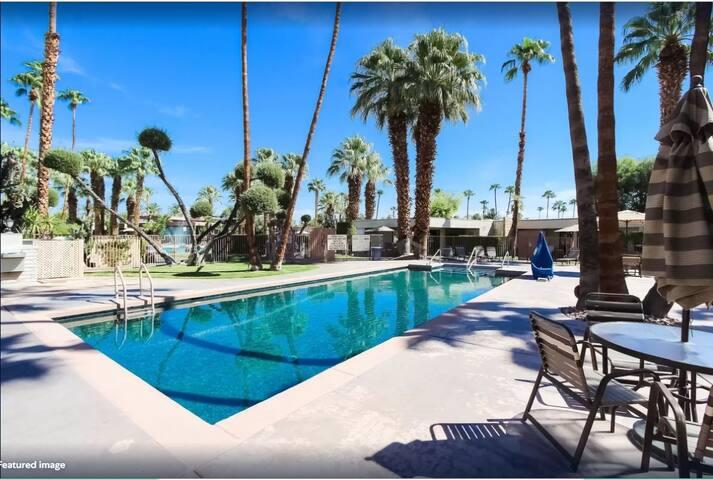 2 Bed TNHS@ Desert Isle of Palm Springs Resort