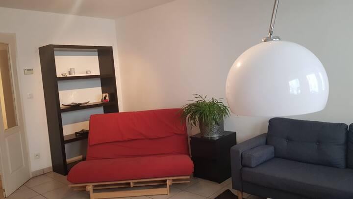 Appartement 6 pers + parking quartier Krutenau