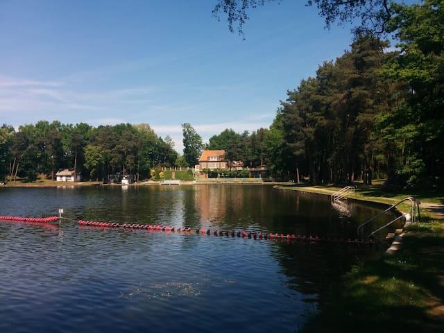 Ferienwohnung am Wasser + Seeblick