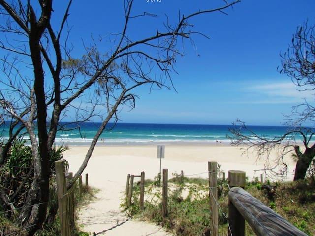 Beautiful quiet beach