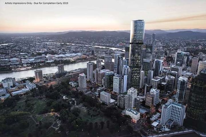 Single room in the heart of Brisbane CBD