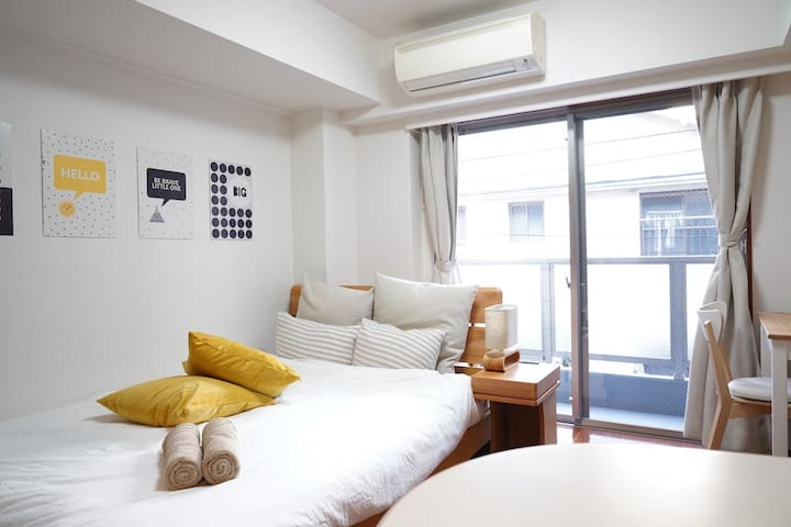 Compact and brilliant apt in central Shinjuku