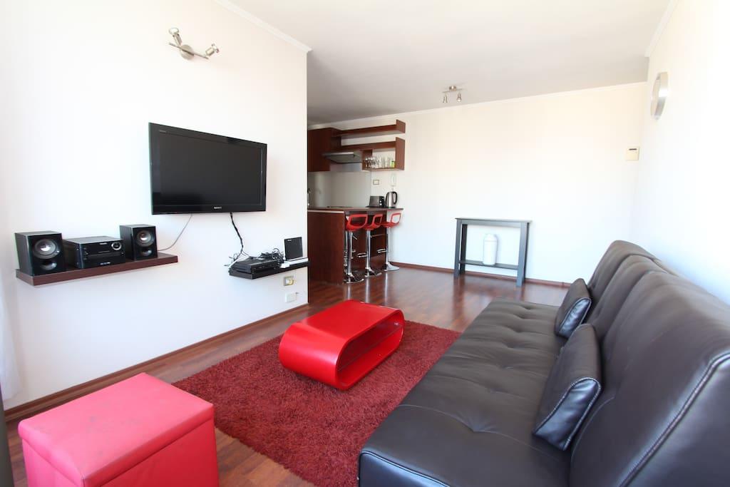 Living Room y Cocina