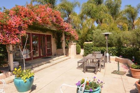 Charming 3 Bedroom with Magical Gardens! - Santa Barbara