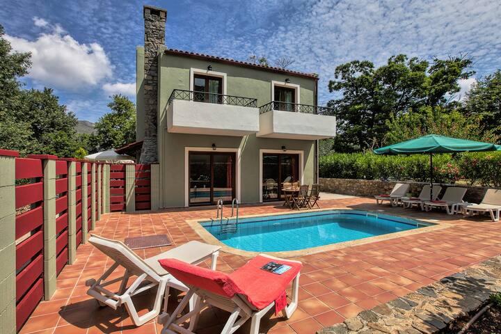Villas Arhontika (Red) - Private Pool & Jacuzzi