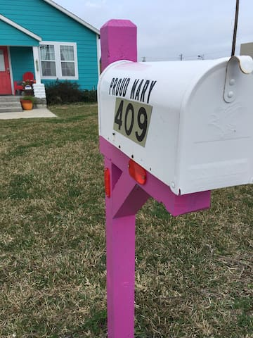 My mailbox blinged out !