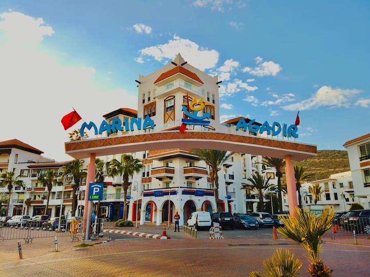 Beautiful appartement at Marina Agadir.