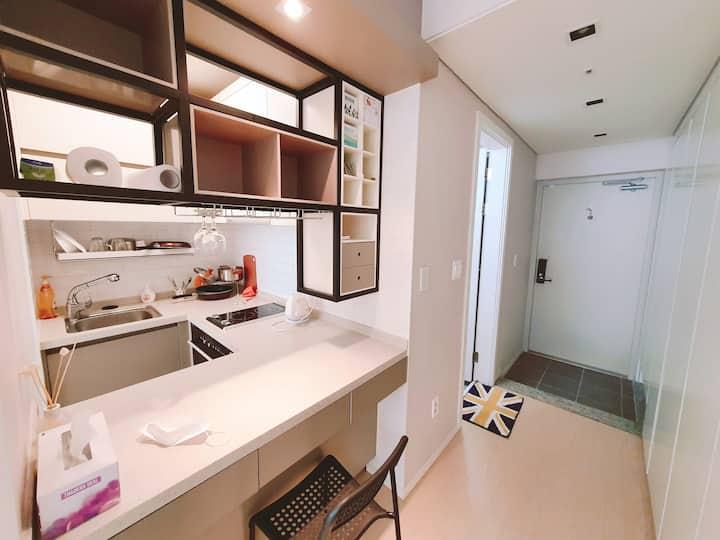 Gray's Modern House #정자역5분 #클린한 룸 컨디션 #원룸 #소형아파트