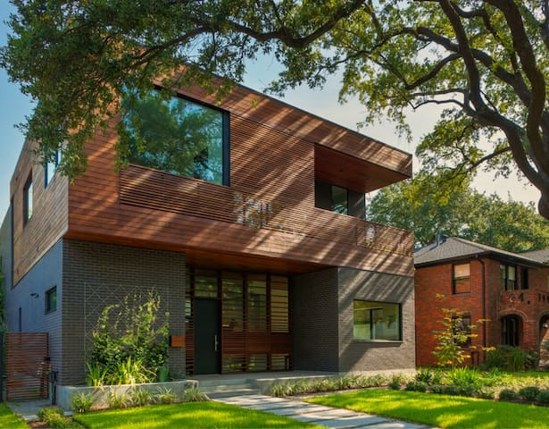 Award-Winning Modern Home in Montrose, Houston