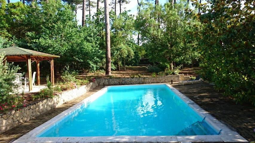 CONTIS PLAGE - Maison avec piscine privative