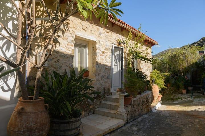 traditional Cretan home near Matala