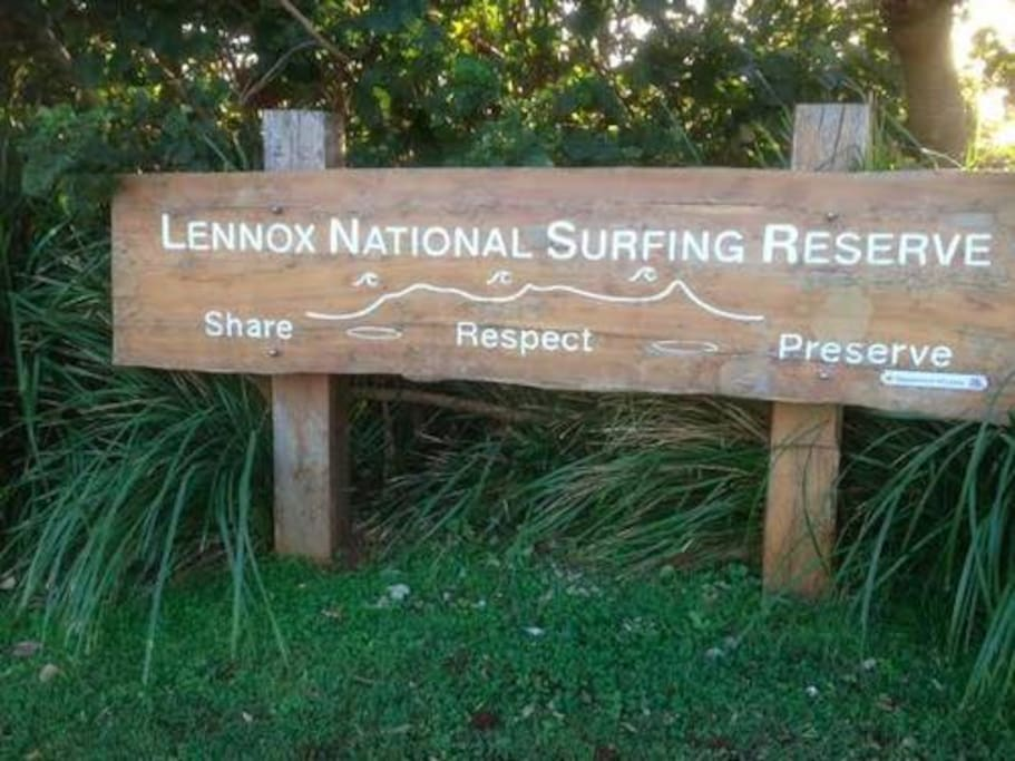 Lennox Surf reserve - if there was any doubt.