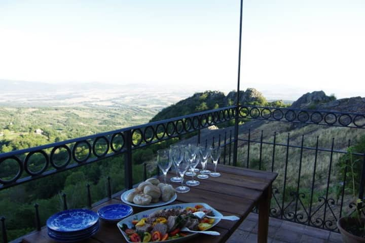 Roccatederighi Castle House with Amazing View 1
