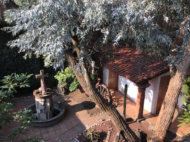 "Private Room ""Blue House"" Coyoacan - Ciudad de México - Appartement"