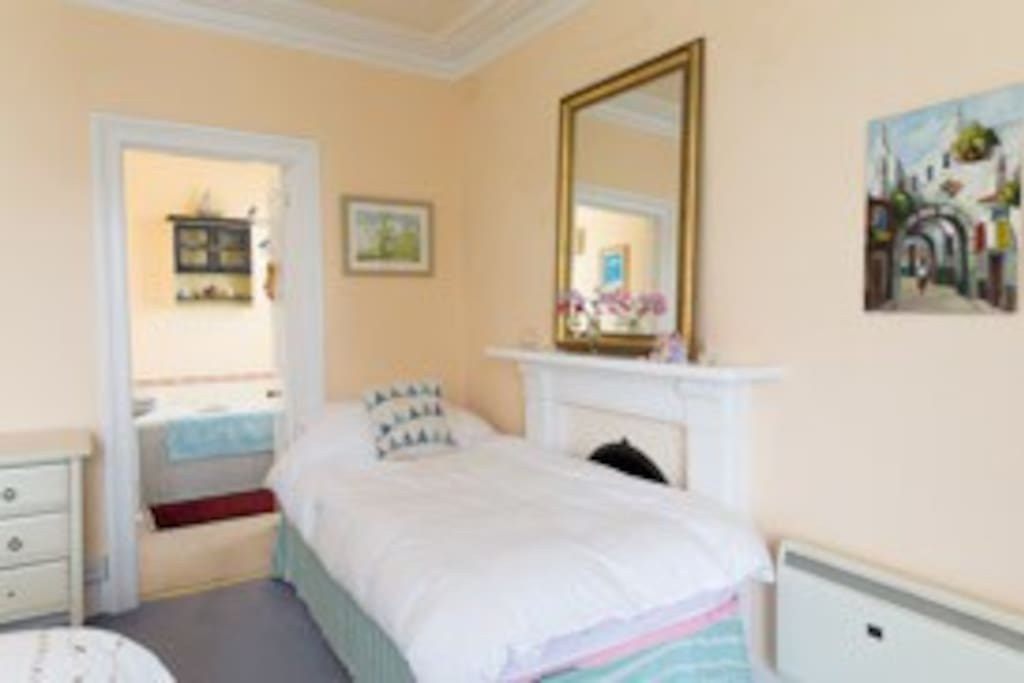 This bedroom can either be a double,twin or family room with en-suite bathroom.