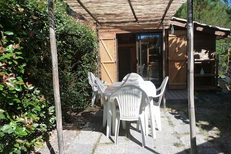 Petit chalet en bois simple et confortable - Andernos-les-Bains - Chalet