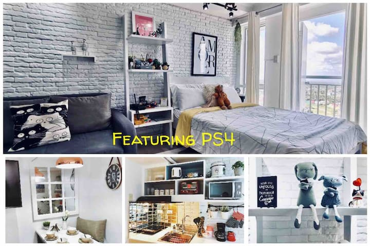 Nordic Crystal:  Penthouse with Netflix + PS4