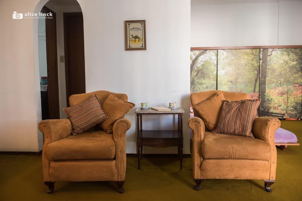 Sala vista2. Living room.