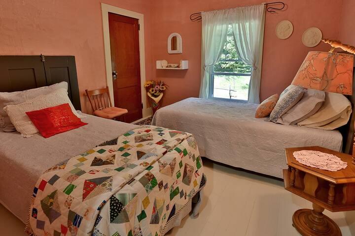 Petite chambre à East Hereford (près de Coaticook)
