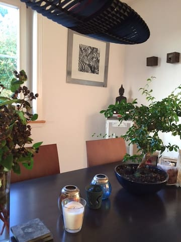 cozy apartment in the nature, close to Zurich - Erlenbach - アパート