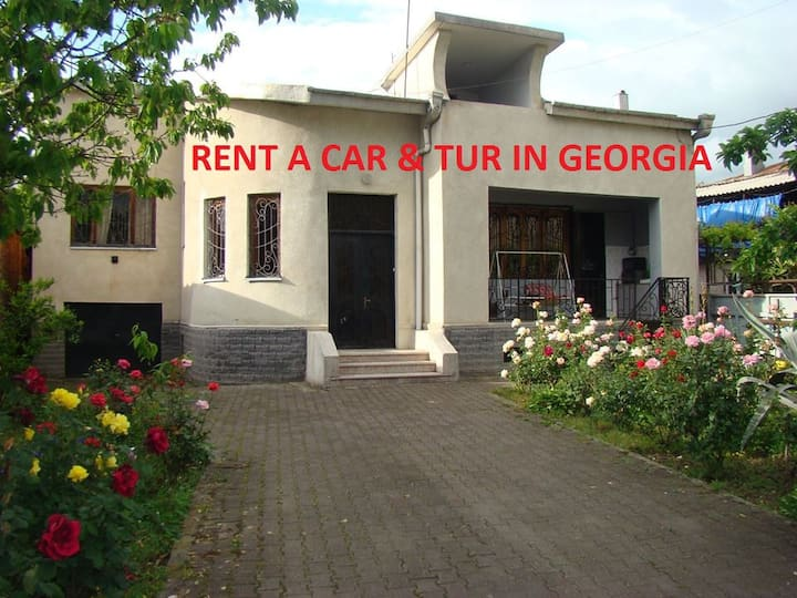 Guest House Mariami+tours in Georgia+rent a car