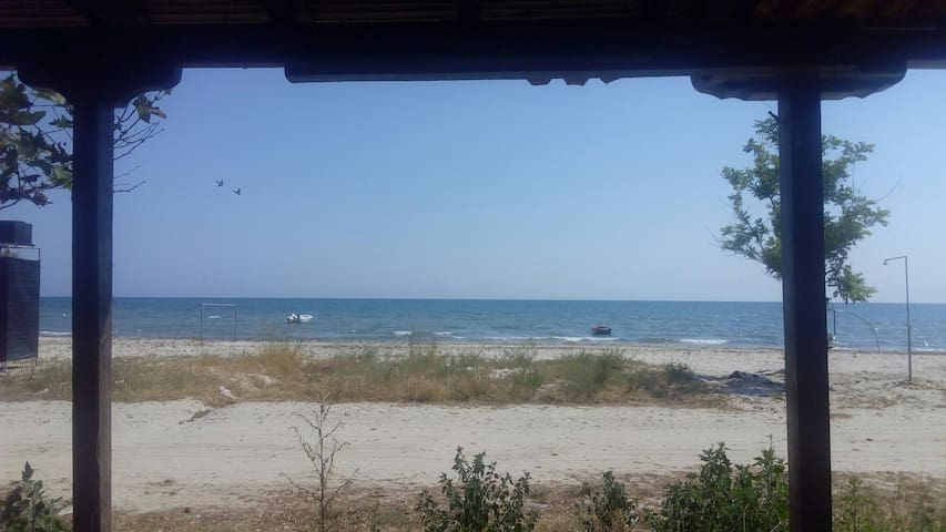Caravan just a few meters from the sea! - Paralia Mesis - Campingvogn