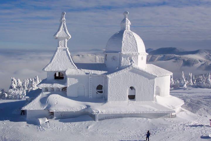 Hory, muzea, lyžování a koupání - ideální dovolená