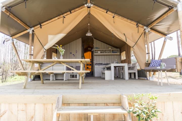 Quinta dos Corgos - Safari tent Amarelo