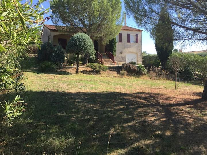 Maison superbe vue et jardin St christol lès alès