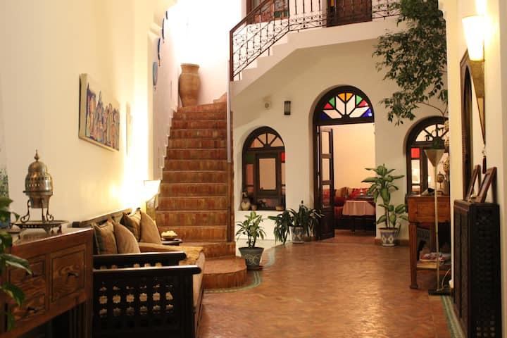 Room Lilac at Dar Manara