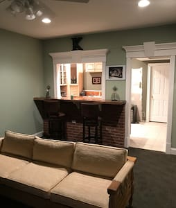 Private finished basement. - Batesville - House