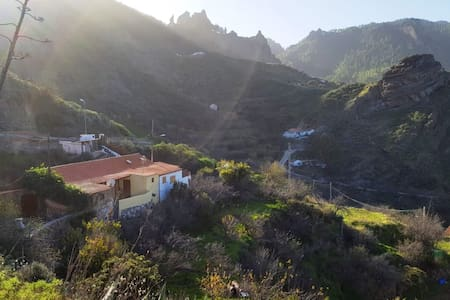 Cottage in the center of Gran Canaria - Tejeda