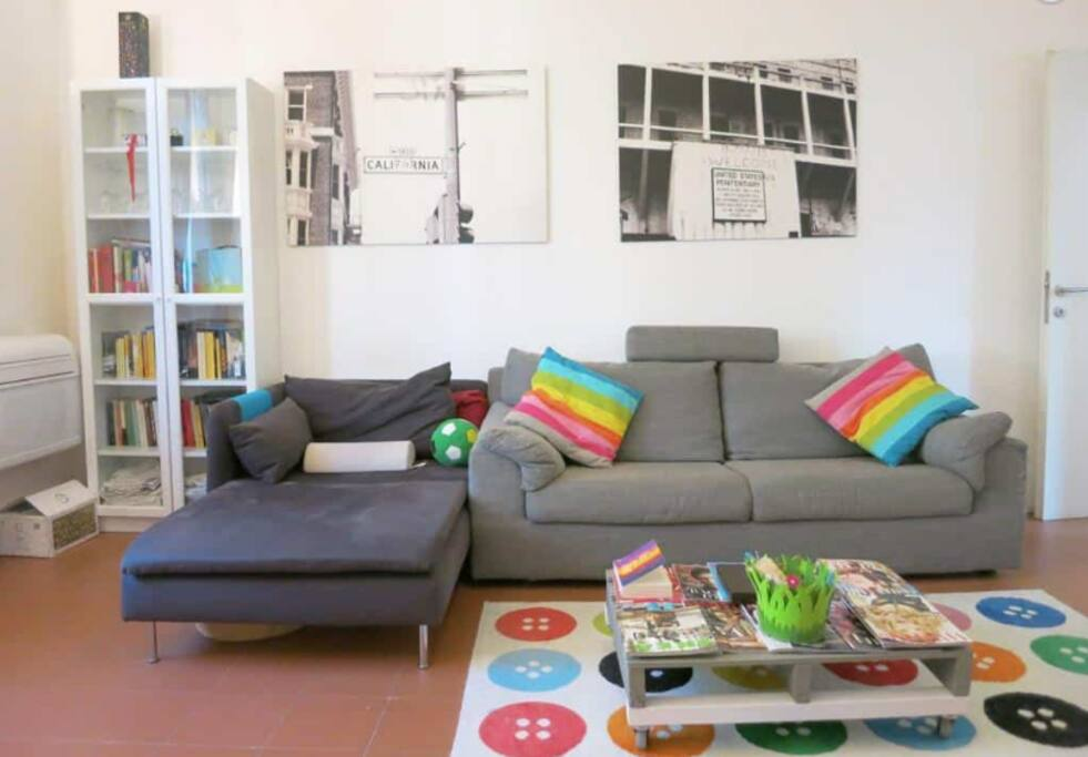 Big sofa and sofa bed