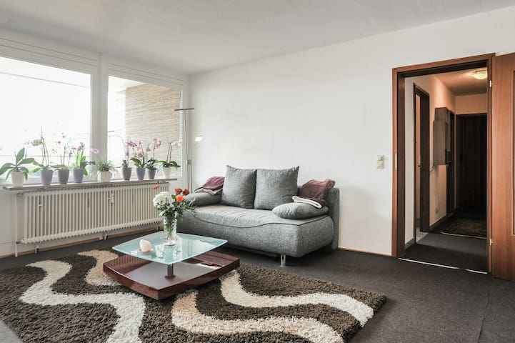 Großes-helles Appartment mit Balkon - Fellbach - Appartement