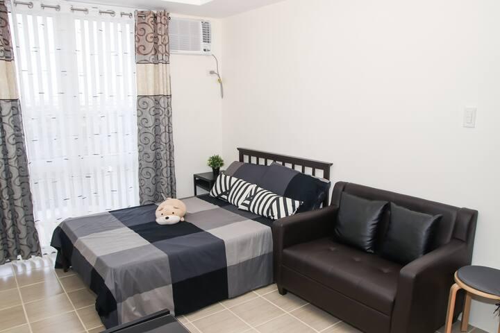 Cozy Apartment at Kasara Urban Resort Residences