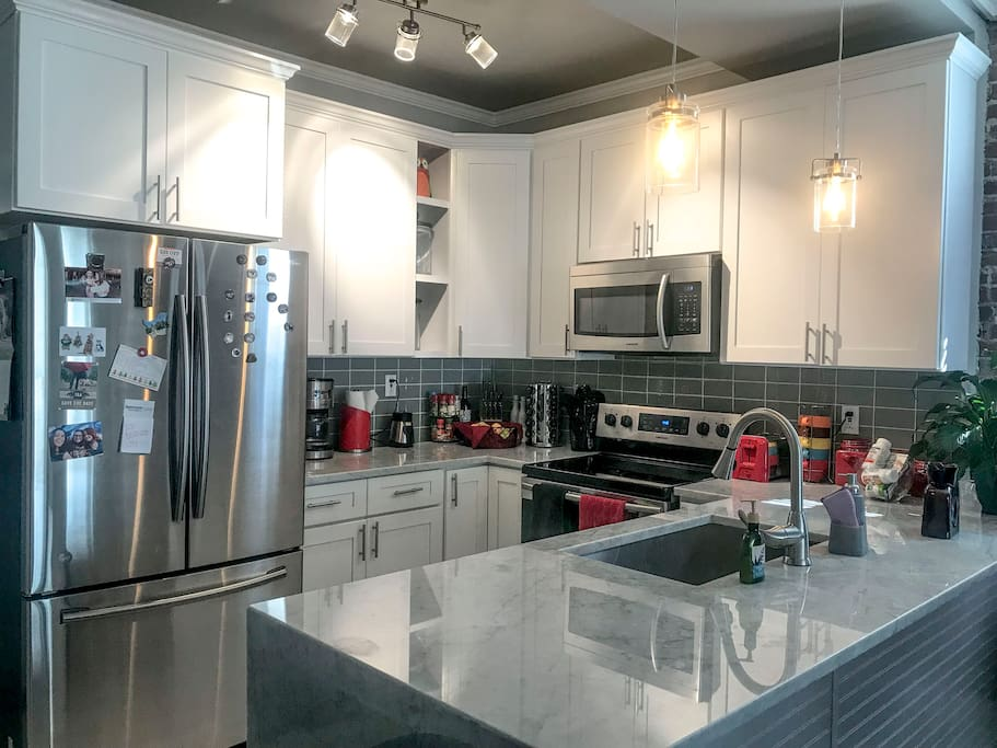 Shared kitchen equipped with all your cooking needs!