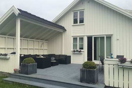 Fantastic house for rent for family / 6 persons - Kristiansand