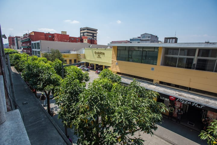 Loft perfecto para visitar la ciudad de Guatemala