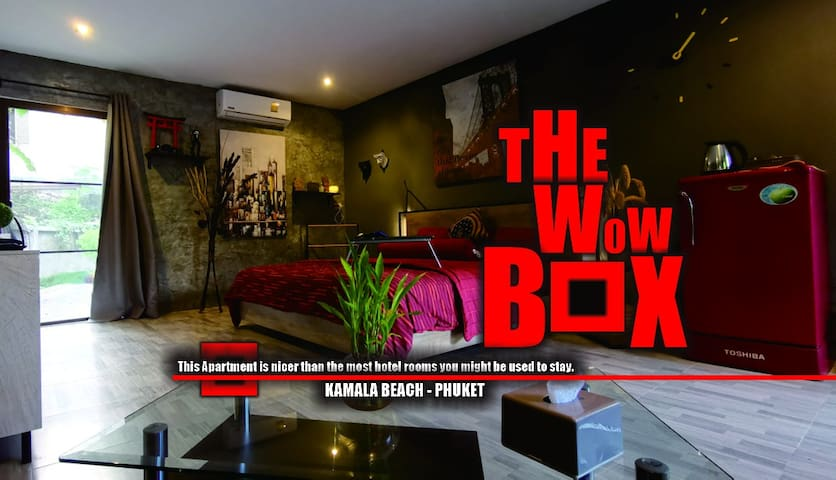 The WOW BOX - An EPIC place in Kamala Beach