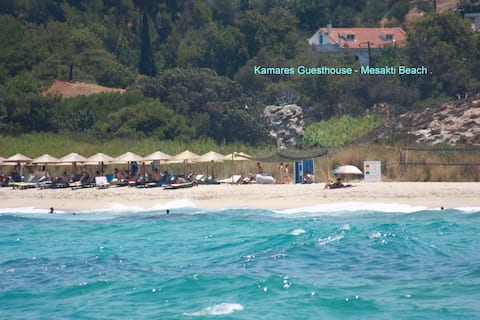 Kamares Guesthouse- - Messakti Beach