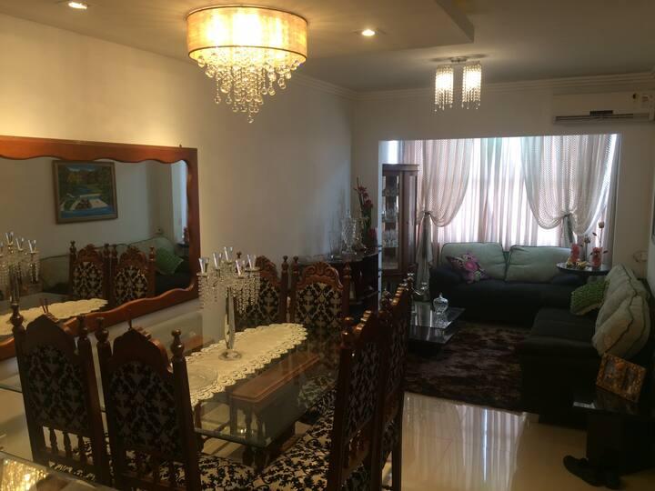 Apartamento no Centro com duas suítes